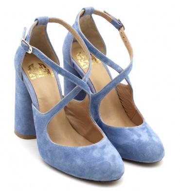 ''Felicie'' Blue sky Heel
