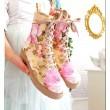 Merida Pink Roses booties