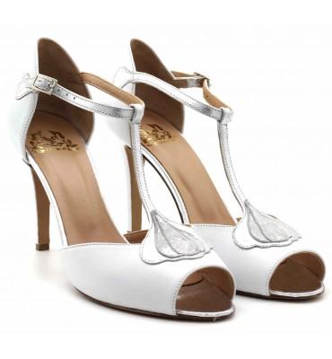 ''Ariel'' White Sandal